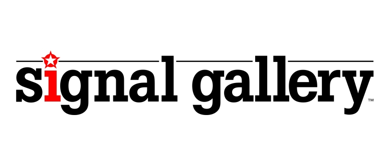 Signal Gallery logo designed by Type Design
