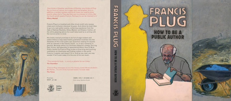Hard Cover commission for Paul Ewen's first novel